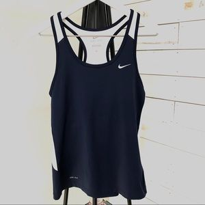 3/$20 Nike Dri Fit Workout Racerback Tank Top